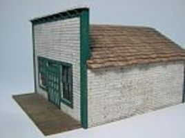 RS-Laser 1880 Main Street Store Kit HO Scale Model Railroad Building #2030