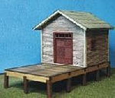 RS-Laser Billco Freight Kit HO Scale Model Railroad Building #2040