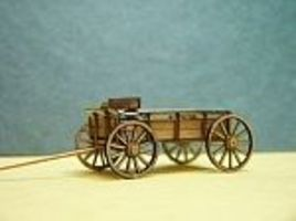 RS-Laser Farm Wagon 2 pack Kit HO Scale Model Railroad Vehicle #2501
