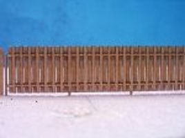 RS-Laser Good Neighbor Fence Kit HO Scale Model Railroad Building Accessory #2504