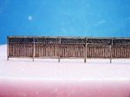 RS-Laser Privacy Fence Kit HO Scale Model Railroad Building Accessory #2506