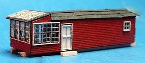 RS-Laser Saw Filers Shack Kit N Scale Model Railroad Building #3018