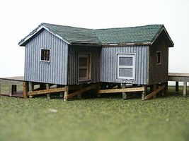 RS-Laser Linden Freight House Kit N Scale Model Railroad Building #3039