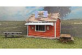 RS-Laser Jeffs Roach Shack Kit N Scale Model Railroad Building #3046