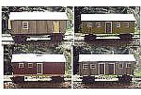 RS-Laser Consolidated Camp Shacks Kit N Scale Model Railroad Building #3051
