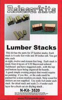 RS-Laser Lumber Stacks Kit N Scale Model Railroad Building #3520