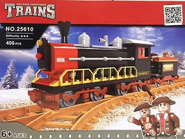 RRtrainblocks Steam Locomotive 406p