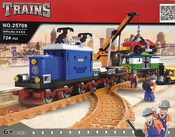 RRtrainblocks Crocodile Work Train 724p