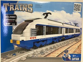 RRtrainblocks Modern Electric City 681p