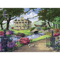 Ravensburger Visiting The Mansion 500pcs Jigsaw Puzzle 0-599 Piece #14690