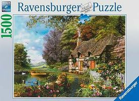 Ravensburger Country Cottage 1500pcs Jigsaw Puzzle Over 1000 Piece #16202