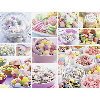 Ravensburger Sweets 2000pcs -- Jigsaw Puzzle Over 1000 Piece -- #16688