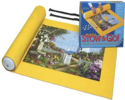Ravensburger Puzzle Stow & Go Rollup -- Jigsaw Puzzle Glue Mat Accessory -- #17960