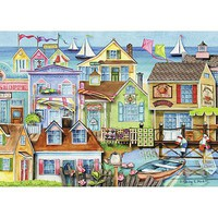 Ravensburger Along The Wharf 1000pcs Jigsaw Puzzle 600-1000 Piece #19602