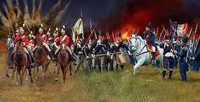 Revell-Germany Battle of Waterloo 1815 Plastic Model Military Figure Kit 1/72 Scale #02450