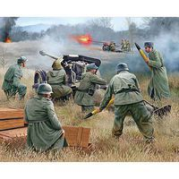 Revell-Germany German Pak 40 with Soldiers Plastic Model Military Figure Kit 1/72 Scale #02531