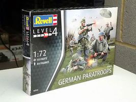 Revell-Germany German Paratroopers WWII Plastic Model Military Figure Kit 1/72 Scale #02532