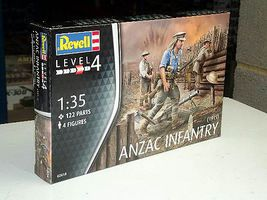Revell-Germany ANZAC Infantry (1915) Plastic Model Military Figure Kit 1/72 Scale #02618