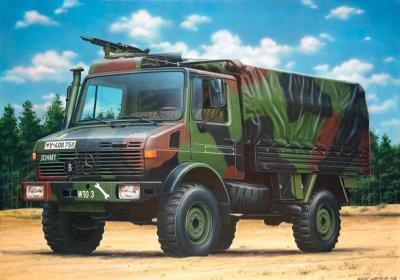 Revell of Germany Unimog -- Plastic Model Military Vehicle Kit -- 1/35 Scale -- #03082