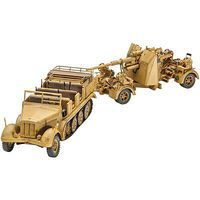 Revell-Germany Sd.Kfz. 7 & 8.8cm Flak 37 Plastic Model Military Vehicle Kit 1/72 Scale #03210