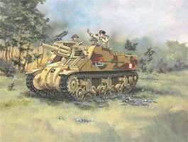 Revell-Germany M7 HMC Priest Plastic Model Military Vehicle Kit 1/76 Scale #03216