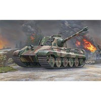 Revell-Germany Tiger II Ausf.B (Henschel Turret) Plastic Model Military Vehicle Kit 1/35 Scale #03249