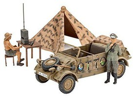 Revell-Germany German Staff Car Type 82 Kubelwagen Plastic Model Military Vehicle Kit 1/35 Scale #03253