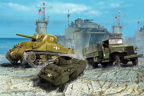 Revell-Germany US Army Vehichles WWII Plastic Model Military Vehicle Kit 1/144 Scale #03350