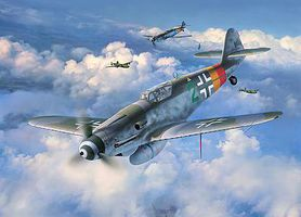Revell-Germany Messerschmitt BF109 G-10 Plastic Model Airplane Kit 1/48 Scale #03958