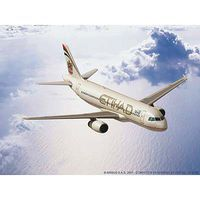 Revell-Germany Airbus A320 Etihad Plastic Model Airplane Kit 1/144 Scale #03968