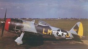 Revell-Germany P-47 M Thunderbolt Plastic Model Airplane Kit 1/72 Scale #03984