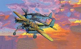 Revell-Germany TA 154 Mistel V and Fw190 Plastic Model Airplane Kit 1/48 Scale #04824