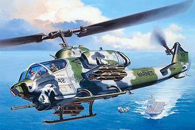 Revell-Germany AH-1W SuperCobra Plastic Model Helicopter Kit 1/48 Scale #04943