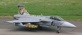 Revell-Germany Saab JAS-369C Gripen Plastic Model Airplane Kit 1/72 Scale #04999