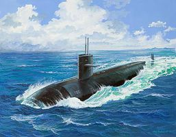 Revell-Germany US Navy Submarine USS Dallas Plastic Model Military Ship Kit 1/400 Scale #05067