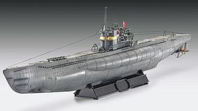 Revell-Germany German U-Boat Type VIIC/41 Atlantic Version Plastic Model Military Ship 1/144 Scale #05100