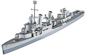 Revell-Germany USS Fletcher (DD-445) Plastic Model Military Ship Kit 1/700 Scale #05127