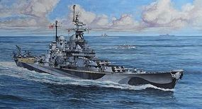Revell-Germany Battleship USS Missouri WWII Plastic Model Military Ship Kit 1/1200 Scale #05128