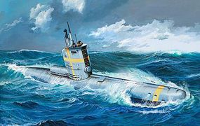 Revell-Germany German Submarine Type XXIII Plastic Model Military Ship Kit 1/144 Scale #05140