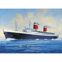 Revell-Germany SS United States Plastic Model Commercial Ship Kit 1/600 Scale #05146