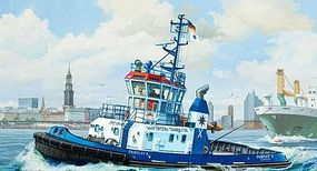 Revell-Germany Harbour Tug Boat Fairplay I/III/X/XIV Plastic Model Ship Kit 1/144 Scale #05213