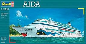 Revell-Germany Aida Cruiseship Plastic Model Commercial Ship Kit 1/1200 Scale #05805