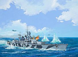 Revell-Germany RN Roma Plastic Model Military Ship Kit 1/1200 Scale #05821