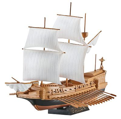 Revell of Germany Spanish Galeon -- Plastic Model Sailing Ship Kit -- 1/450 Scale -- #05899