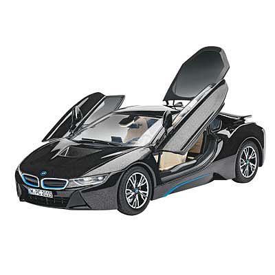 Revell of Germany BMW i8 -- Plastic Model Car Kit -- 1/24 Scale -- #07008