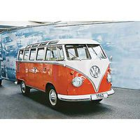 Revell-Germany VW Typ 2 T1 Samba Bus Plastic Model Vehicle Kit 1/16 Scale #07009