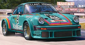 Revell-Germany Porsche 934 RSR Vaillant Plastic Model Car Kit 1/24 Scale #07032