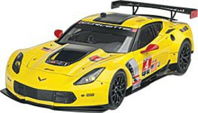 Revell-Germany Corvette C7R Plastic Model Car Kit 1/25 Scale #07036