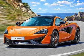 Revell-Germany McLaren 570S Plastic Model Car Kit 1/24 Scale #07051