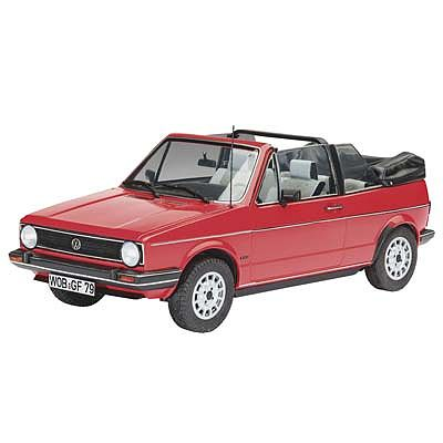 Revell of Germany VW Golf 1 Cabrio -- Plastic Model Car Kit -- 1/24 Scale -- #07071